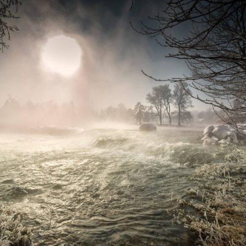 Rijeka Una zimi (FOTO)