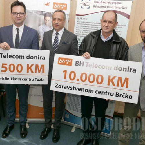 BH Telecom donirao UKC-u Tuzla 167.500 KM