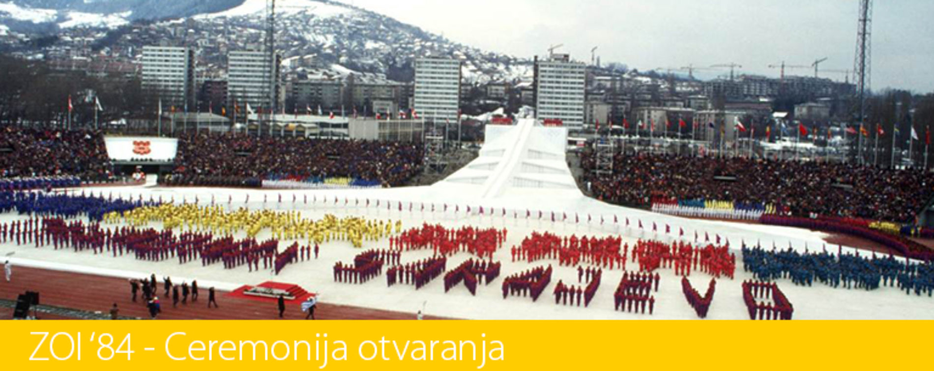Prije 33 godine u Sarajevu otvorene Zimske olimpijske igre – prve u istočnoj Evropi (Video)