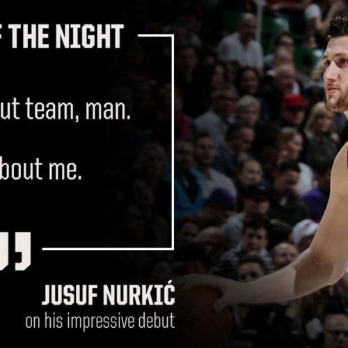 Jusuf Nurkić oduševio mnoge u novom klubu: Amerikanci zadivljeni njegovom snagom (Video)