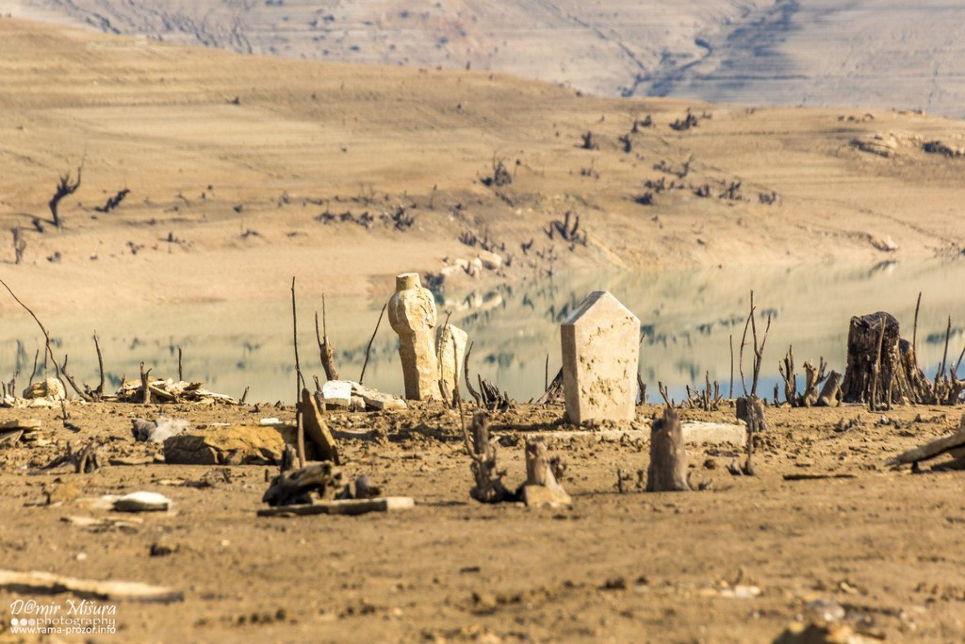 Isušeno Ramsko jezero i priča o Kopčićima
