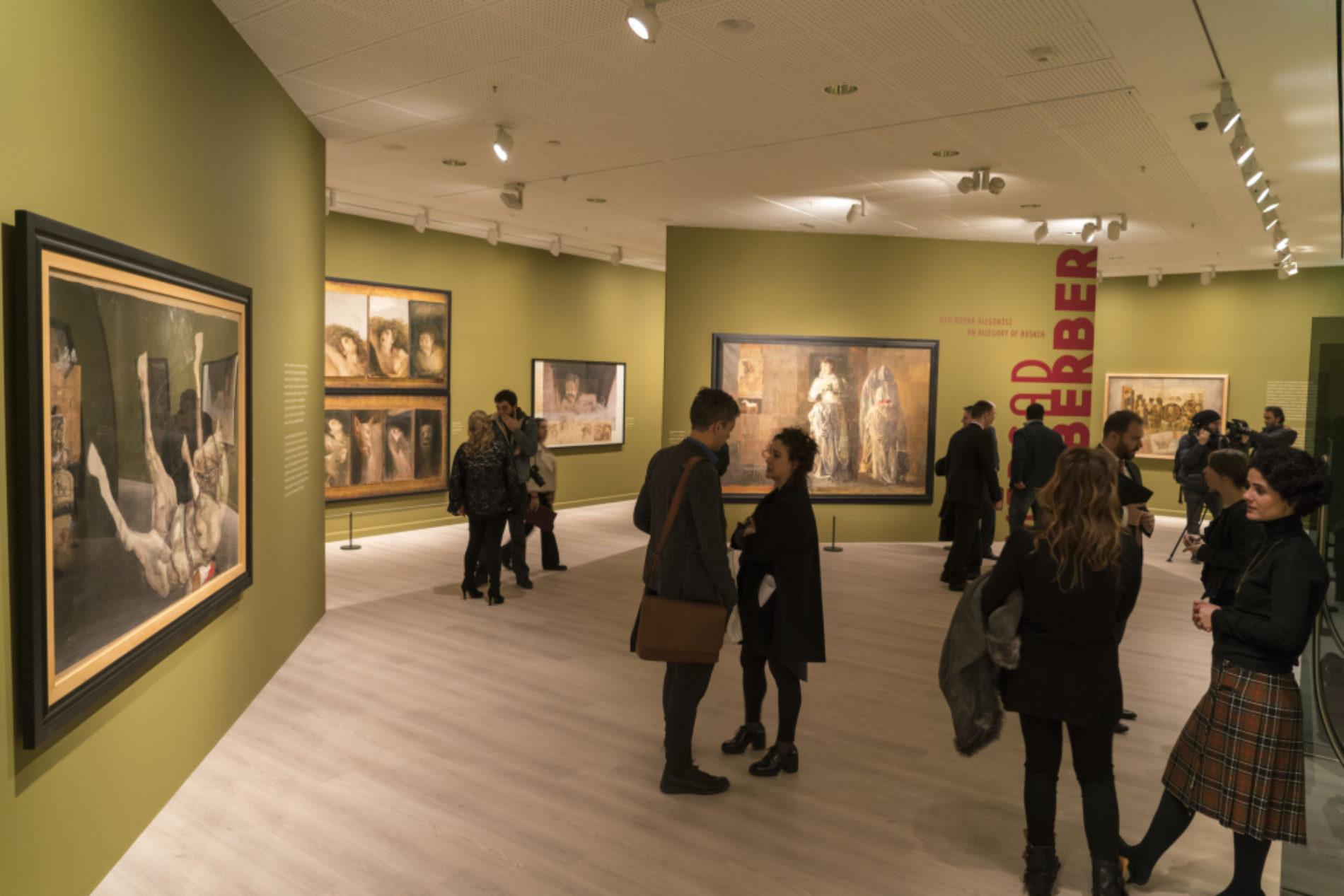 """U najčuvenijem istanbulskom muzeju retrospektivna izložba Mersada Berbera – """"Alegorija Bosne"""""""