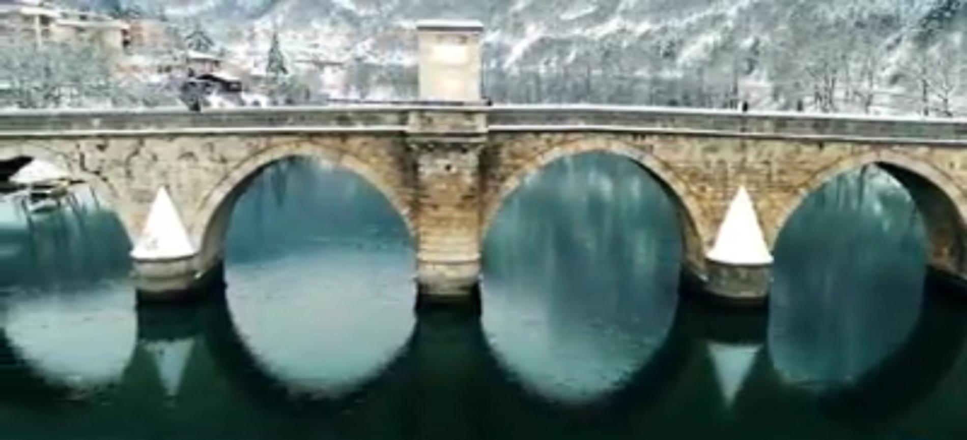 Most Mehmed-paše Sokolovića (VIDEO)