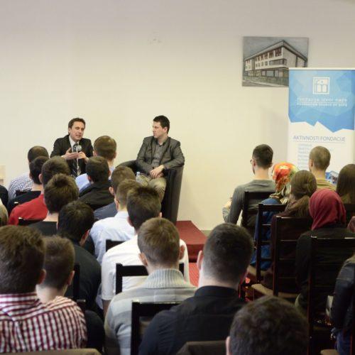 Prof. Sejdić, dobitnik Obamine nagrade, u obraćanju studentima: Budite uporni i imajte jasan cilj