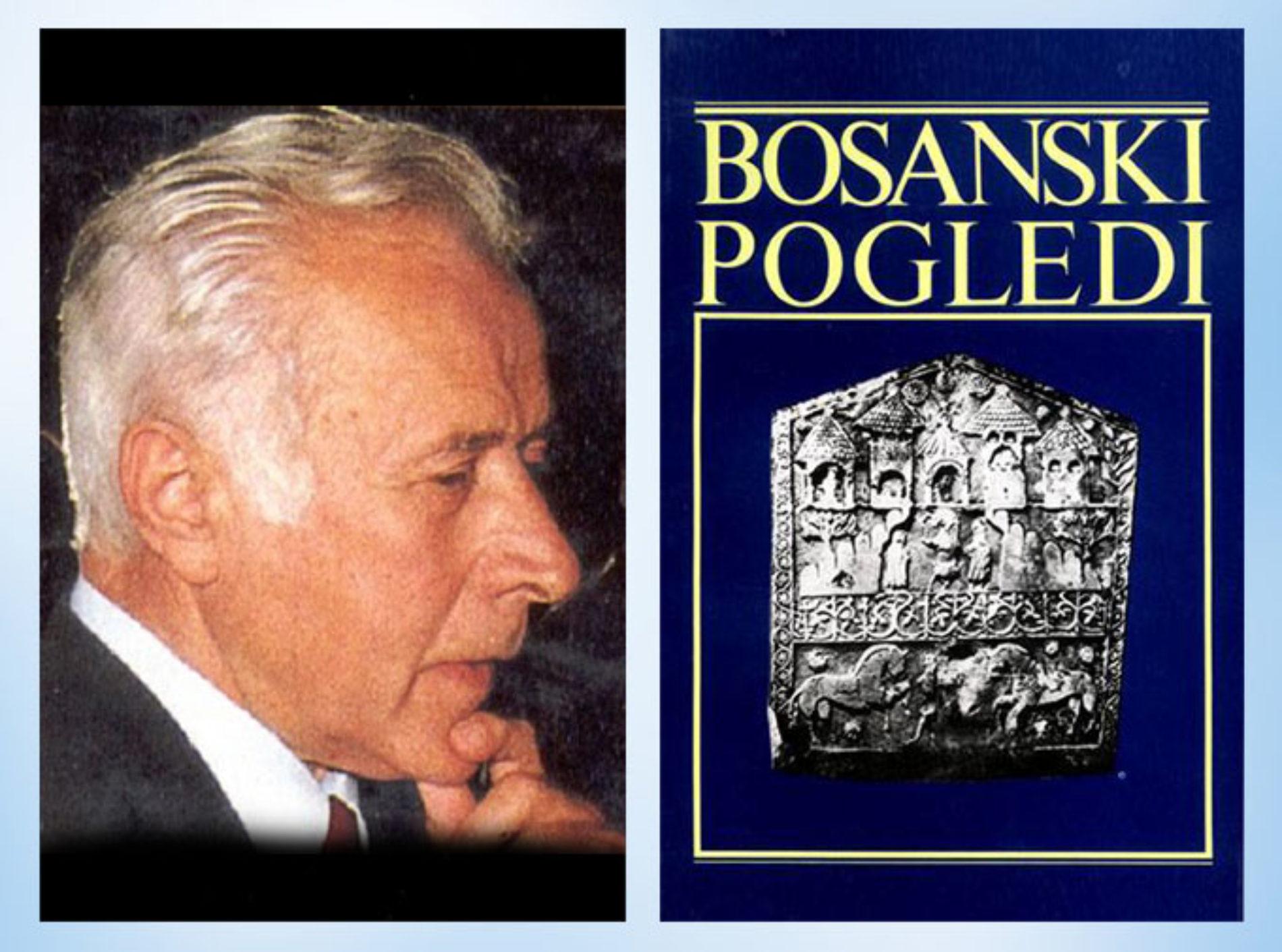 """Utemeljitelji modernog bošnjaštva – dr. Smail Balić i """"Bosanski pogledi"""""""