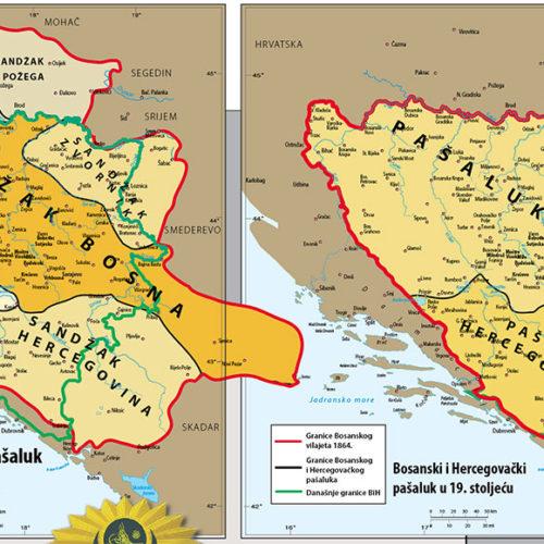 Kako su crtane granice Bosne i Hercegovine