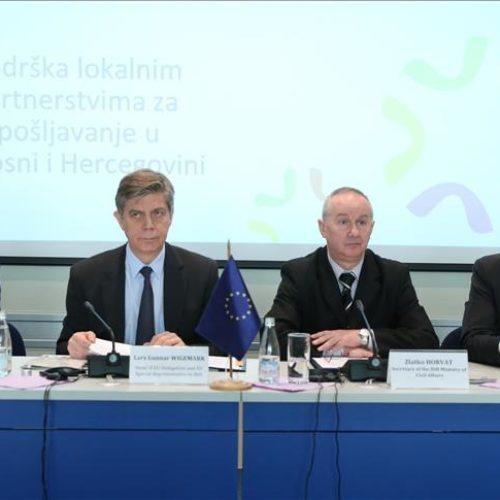 Tri miliona eura za otvaranje 600 novih radnih mjesta u Bosni i Hercegovini