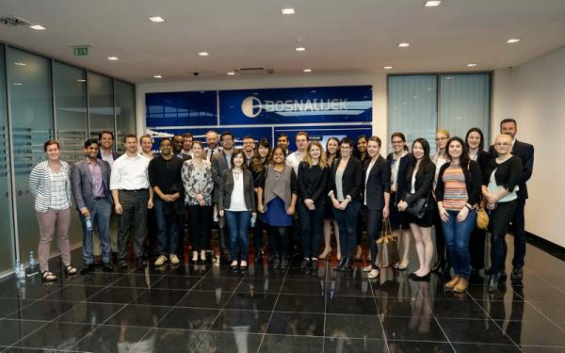 Trideset studenata prestižnog 'Yale Univerziteta' posjetilo kompaniju 'Bosnalijek'