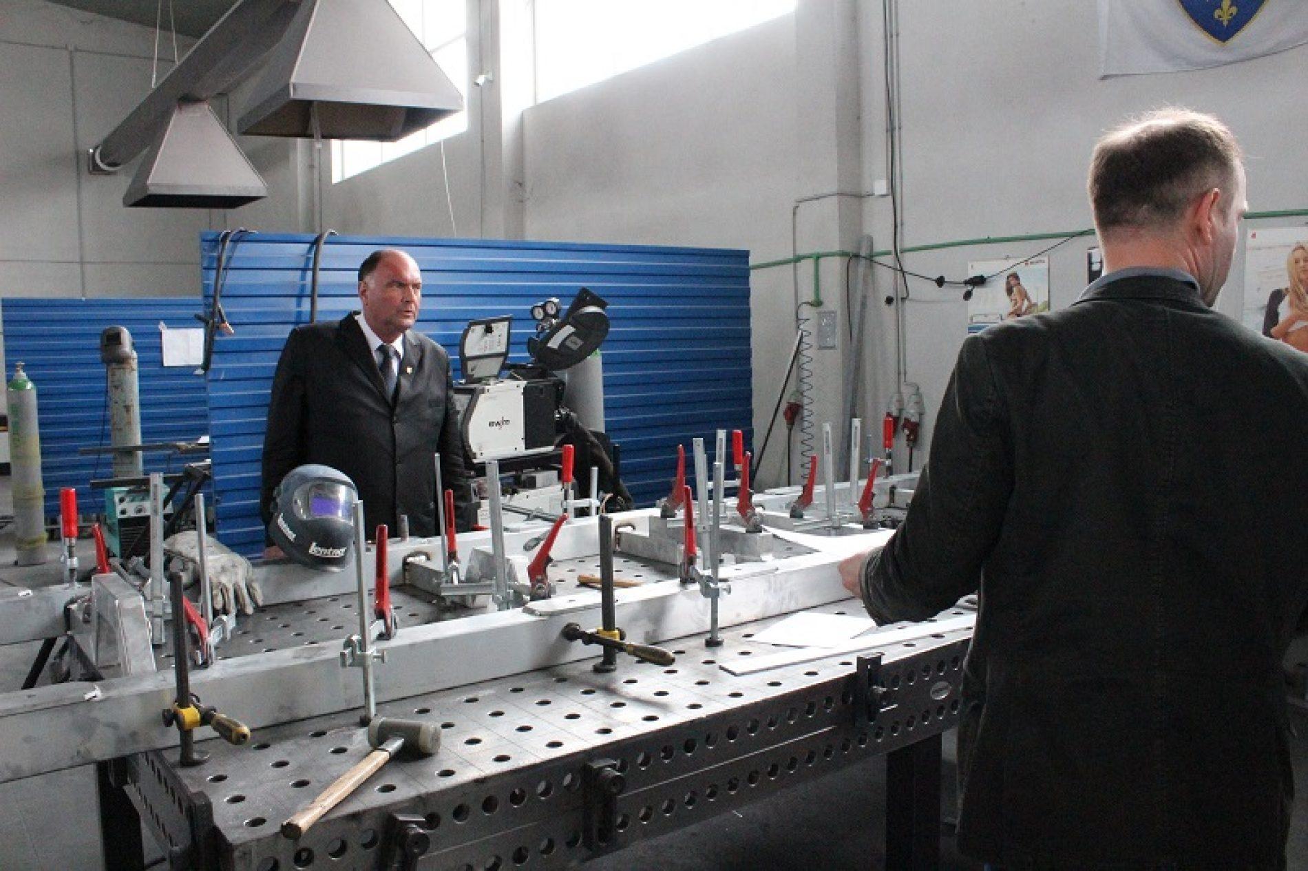 Živinice: Uskoro proizvodnja modernih vatrogasnih vozila s oznakom 'Made in Bosnia and Herzegovina'