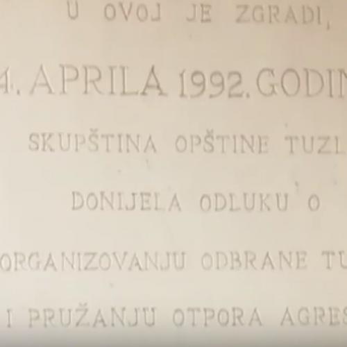Obilježena godišnjica organizovanja odbrane Tuzle (Video)