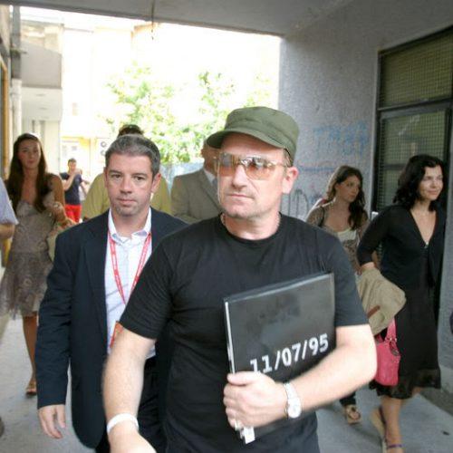 Bono Vox Počasni građanin Kantona Sarajevo