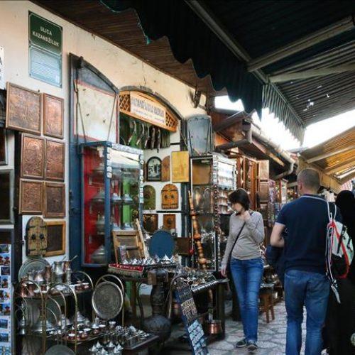 Nazivi ulica na Baščaršiji podsjećaju na stare esnafe (FOTO)