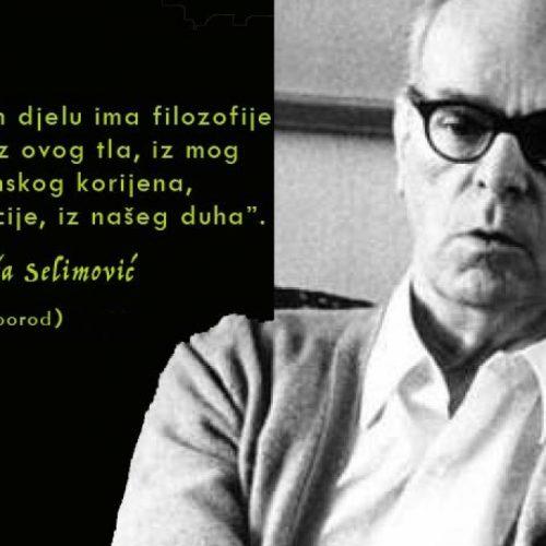 Godišnjica rođenja velikog pisca Meše Selimovića
