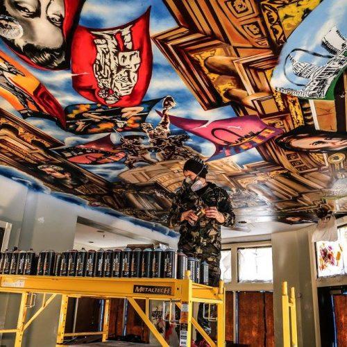 Bosanac u Americi izaziva divljenje svojim umjetničkim radovima: Paco Rosić grafitima oživljava historiju SAD-a (Video)