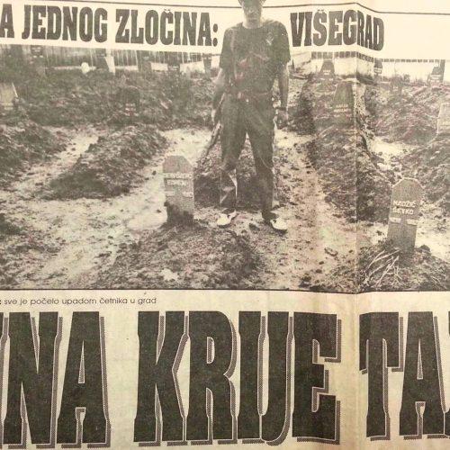 Osuda podizanja krsta u čast ruskih vojnika u Višegradu: Svi oni koji su zajedno sa VRS bili na istoj strani nose etiketu počinioca genocida