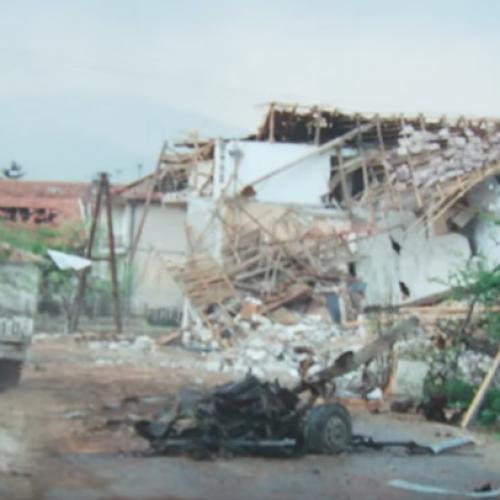 18. aprila 1993. – 'HVO' izveo teroristički napad na Bošnjake u Starom Vitezu sa cisternom punom eksploziva (Video)