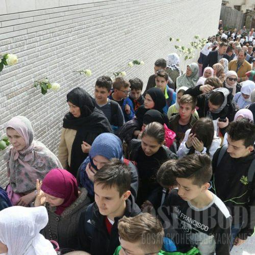 Sarajevo: Otkriven Zid sjećanja sa imenima 6.360 šehida i poginulih boraca