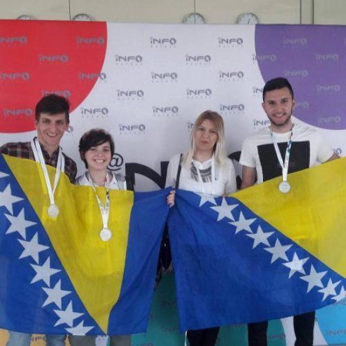 Zlato, srebra i bronze za Bosnu i Hercegovinu na Informatrixu