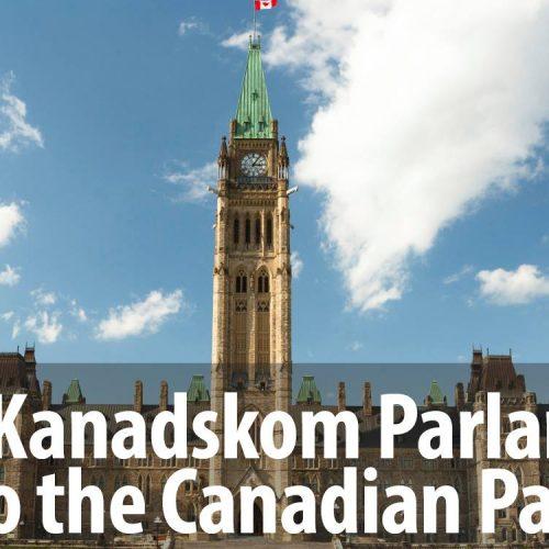 Cvijet Srebrenice u Kanadskom parlamentu