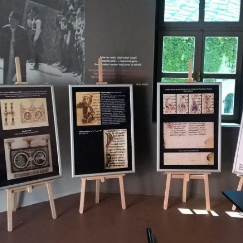 U Mostaru otvorena izložba 'Faksimili srednjovjekovne bosanske književnosti'