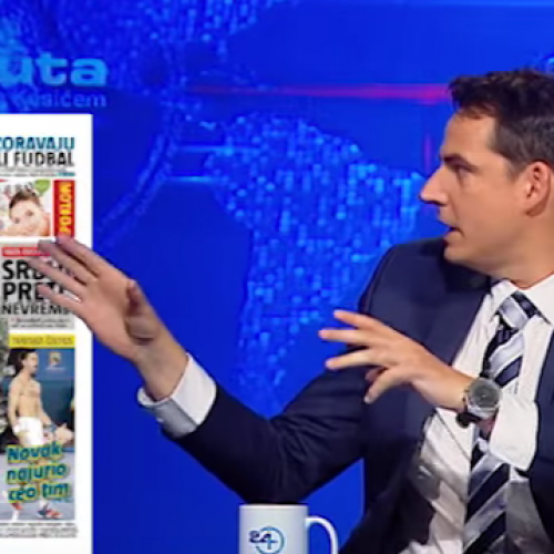 Mediji u Srbiji: Mašinerija ludila (Video)