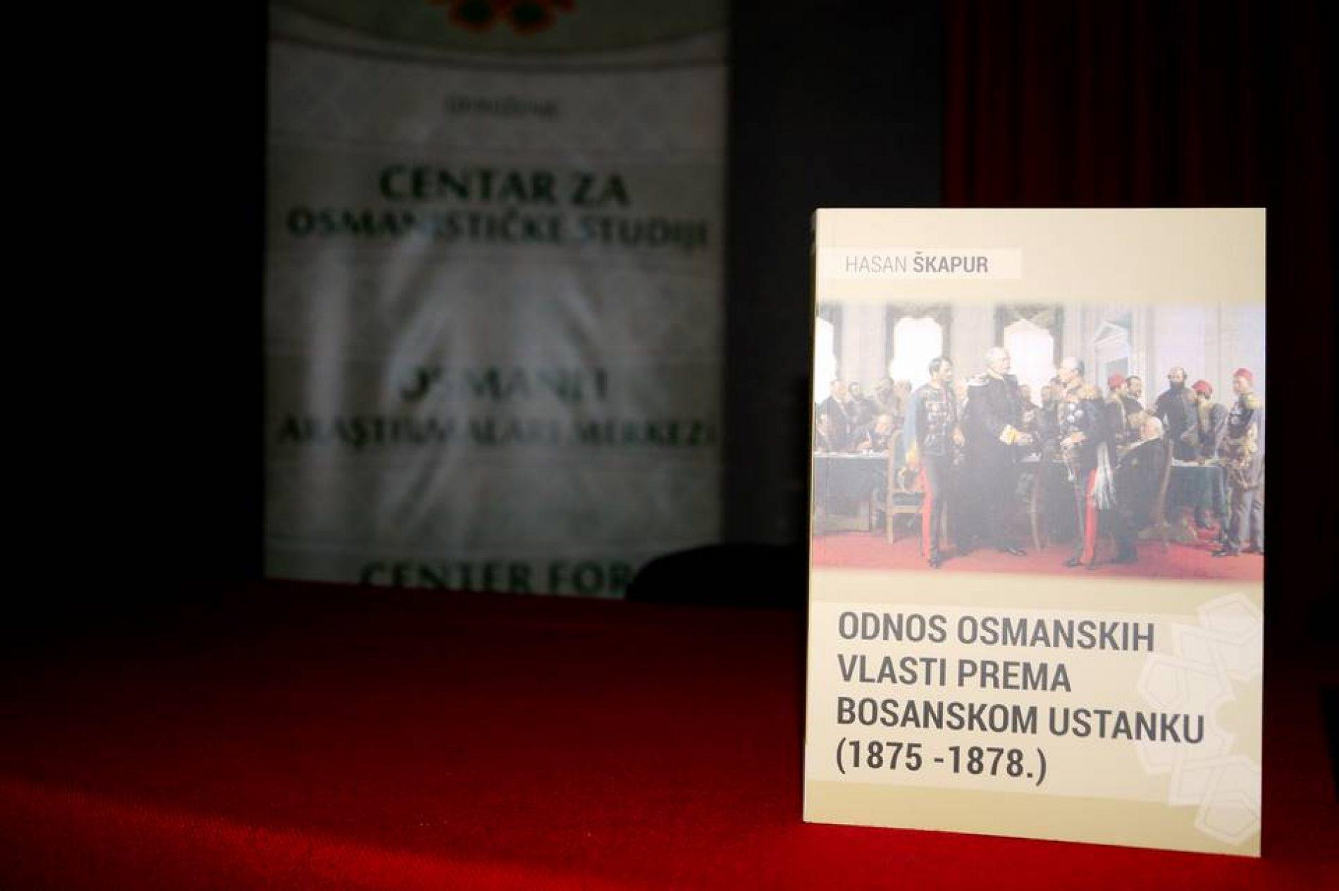 "Održana promocija knjige ""Odnos osmanskih vlasti prema Bosanskom ustanku 1875-1878"""