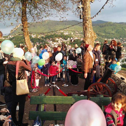 Sarajevo: Top sa Žute tabije najavio Ramazan (Video)