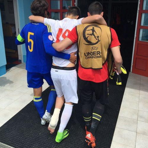 Kadetsko fudbalsko prvenstvo: Bosna i Hercegovina pobijedila Srbiju, meč obilježio fair-play potez kapitena Zmajeva