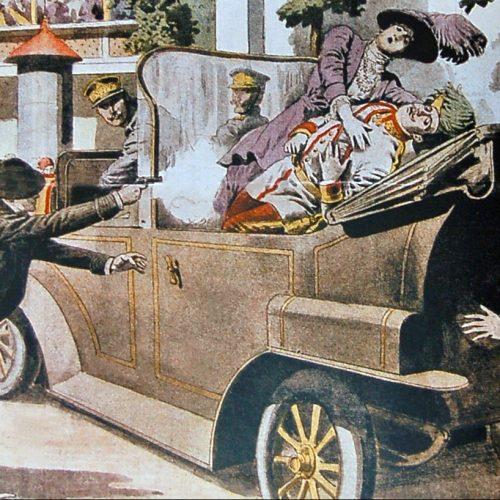 Sarajevski atentat – događaj koji je dao povod za početak Prvog svjetskog rata