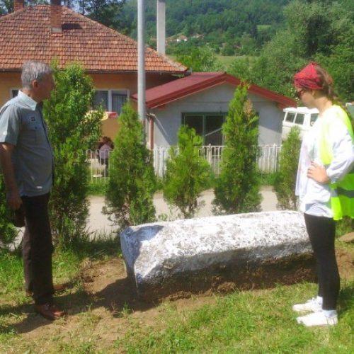 Sanacija nekropole stećaka Slatina u Radovlju kod Visokog