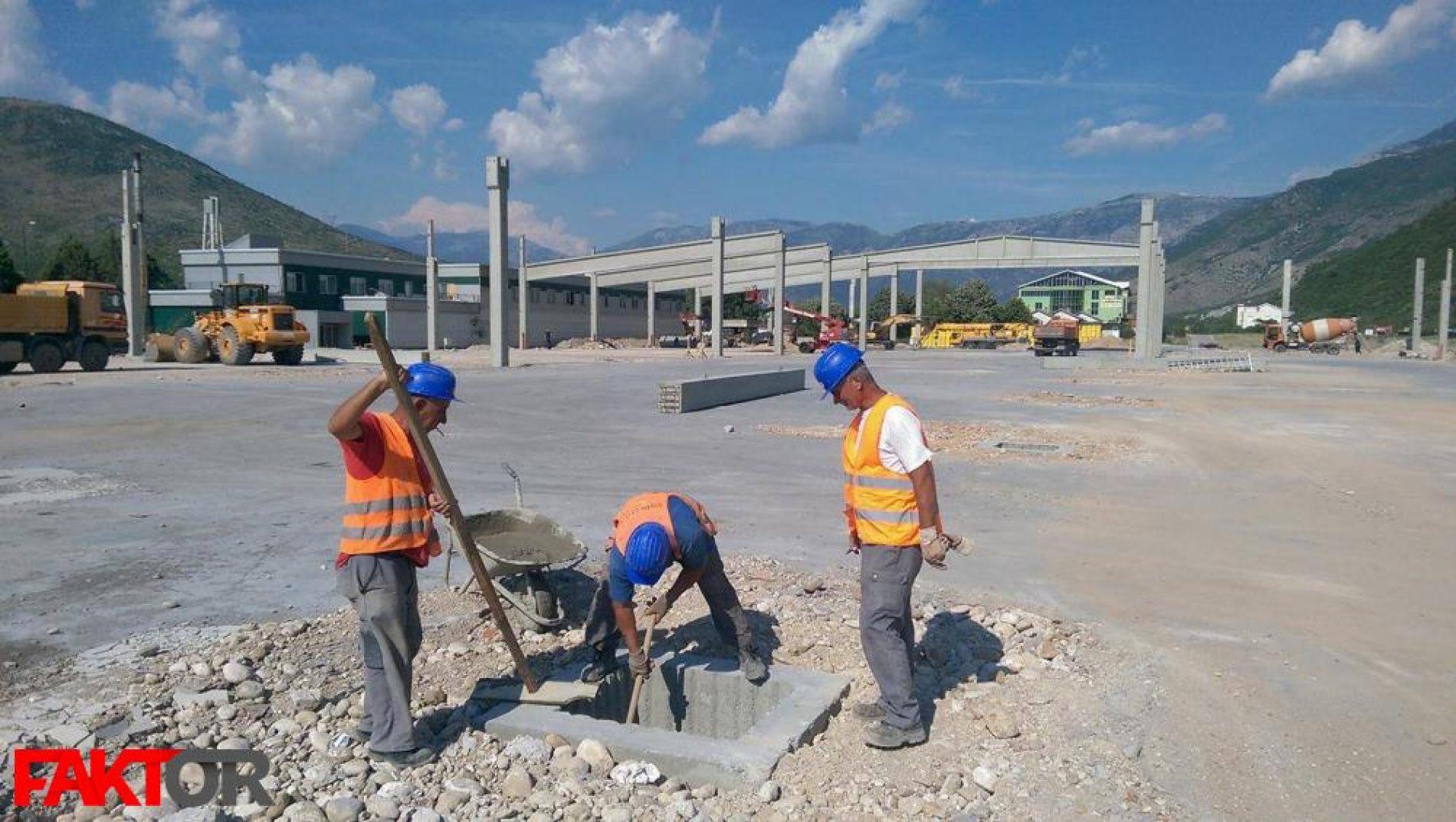 Dva mjeseca nakon požara: Novi Bingo niče na sjevernom ulazu u Mostar