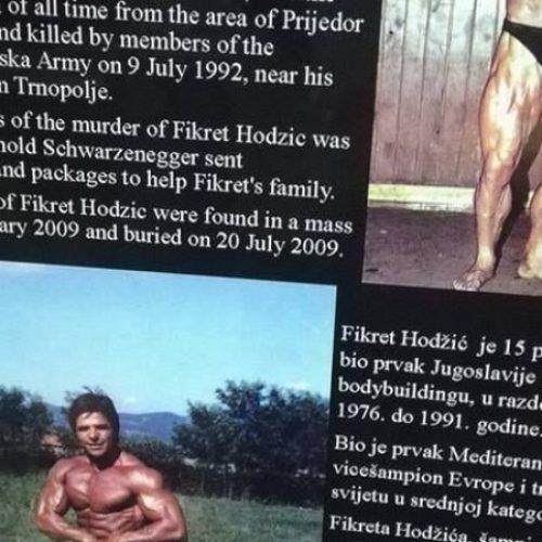 Sjećanje na Fikreta Hodžića, legendarnog bosanskog sportistu koji je mučki ubijen tokom agresije