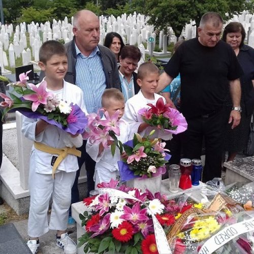 Obilježene godišnjice pogibije heroja odbrane BiH Muhidina Dine Magode i Vinka Šamarlića