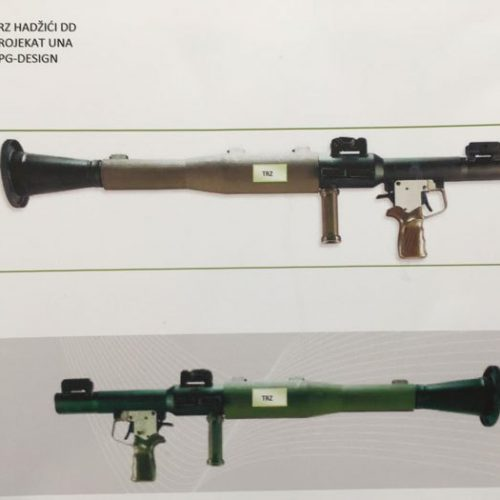 TRZ Hadžići: Uskoro proizvodnja prvog bosanskog ručnog raketnog bacača, model RPG 7