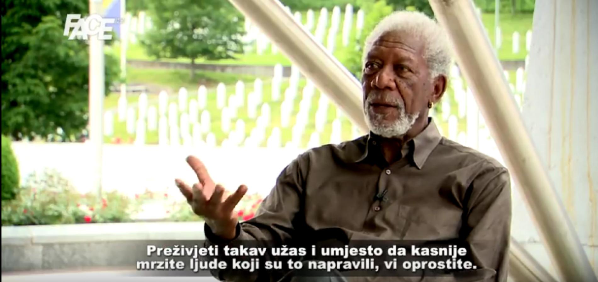 Morgan Freeman o nama: Da bi živjeli u jednoj zajedničkoj zemlji morate svi biti Bosanci (VIDEO)