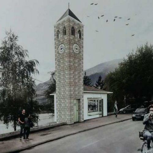 U Goraždu bi uskoro trebala početi izgradnja sahat-kule