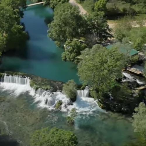 I ovo je Bosna i Hercegovina: Pogledajte prirodne ljepote na rijeci Trebižat (VIDEO)