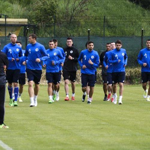 Bosanskohercegovački fudbalski reprezentativci nastavili pripreme