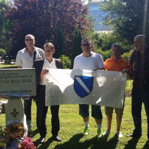 Obilježena 25. godišnjica pogibije Dževada Begića Đilde
