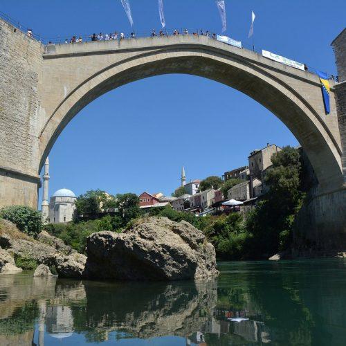Mostar spreman za 451. tradicionalne skokove, grad prepun domaćih i stranih turista
