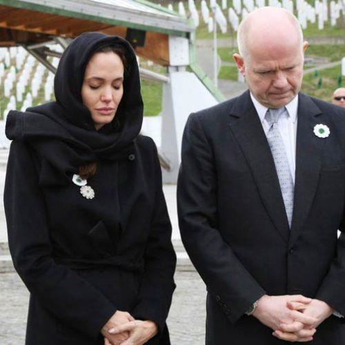 Jolie uputila snažnu poruku ljudima u Bosni i Hercegovini, posebno majkama Srebrenice
