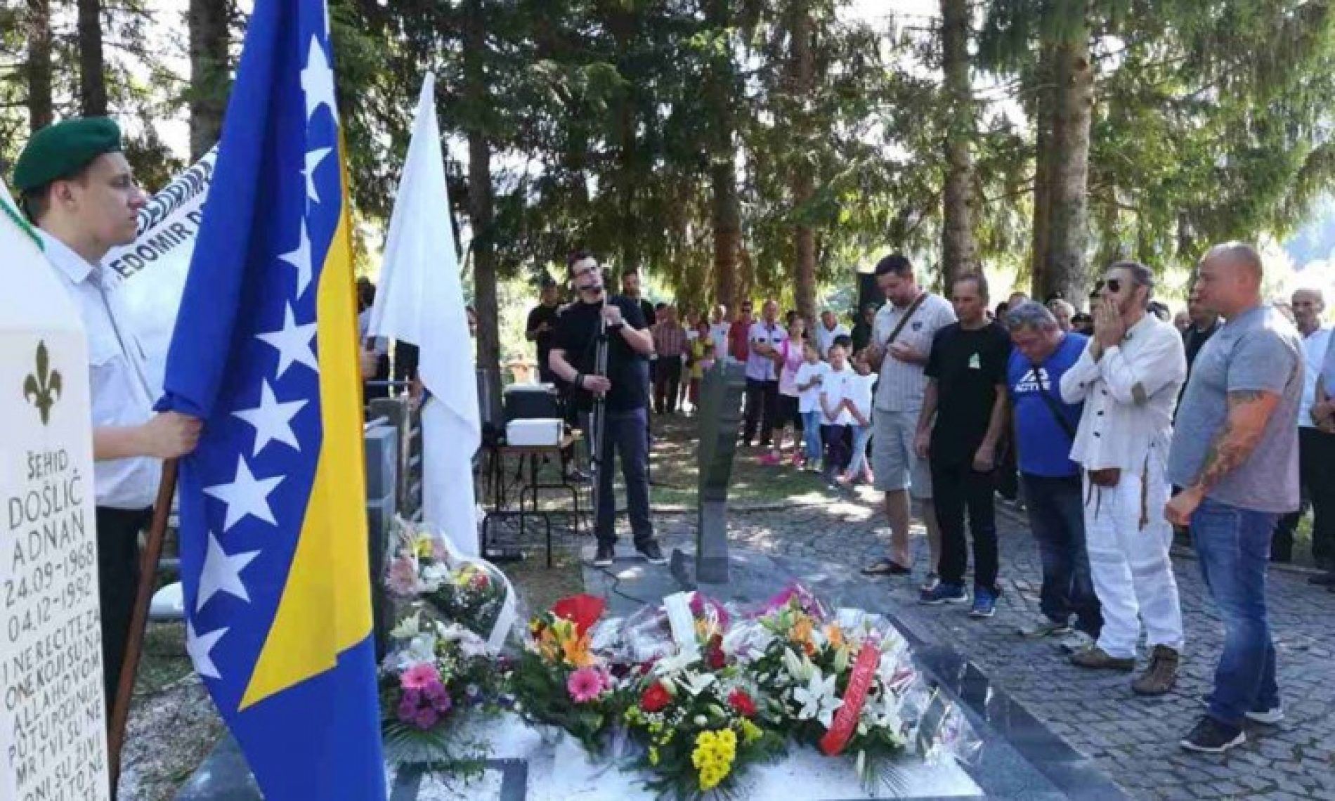 Hadžići: Na Brezovači obilježena 25. godišnjica od pogibije Čedomira Domuza