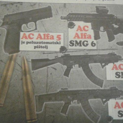 Novi uspjesi namjenske industrije – proizvedena prva bosanska puška i pištolj!