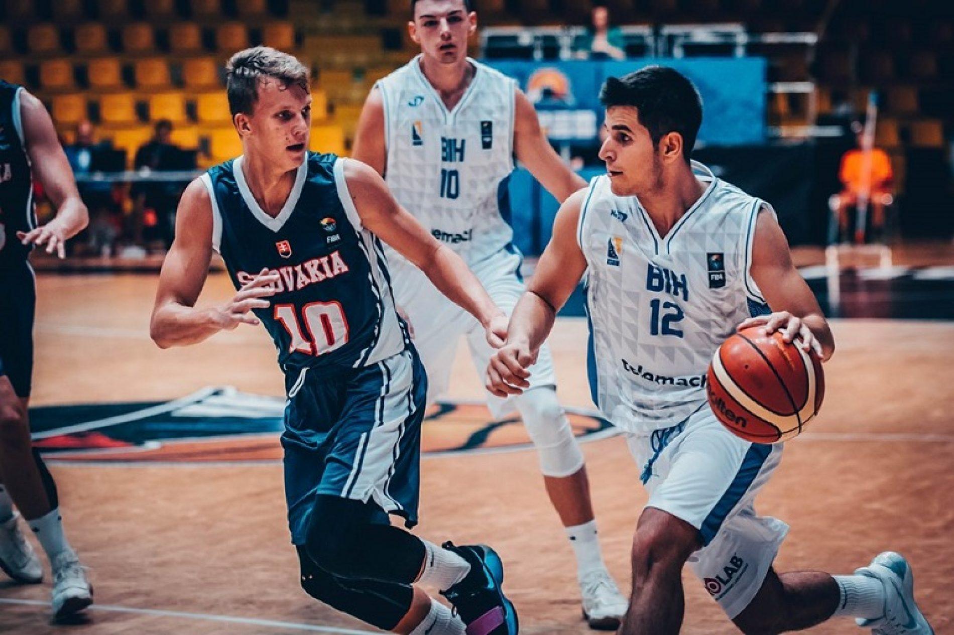Nova pobjeda juniora na Eurobasketu: Bosna i Hercegovina bolja od Slovačke