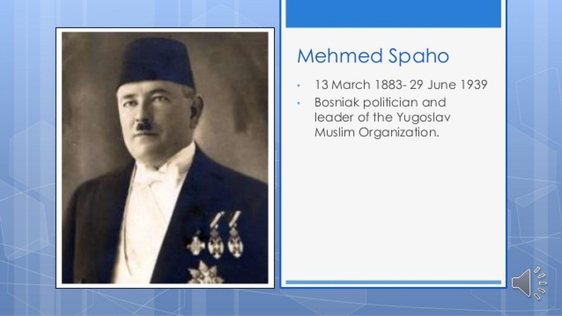 Borba Mehmeda Spahe za očuvanje bosanske cjelovitosti