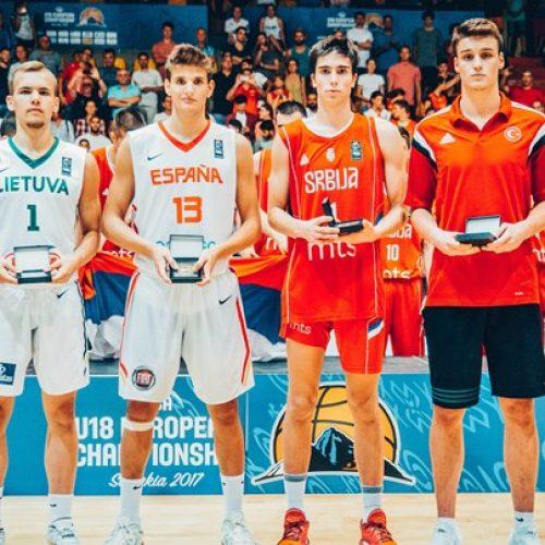 Sani Čampara: Najbolji strijelac juniorskog Eurobasketa; izabran i u najbolju petorku