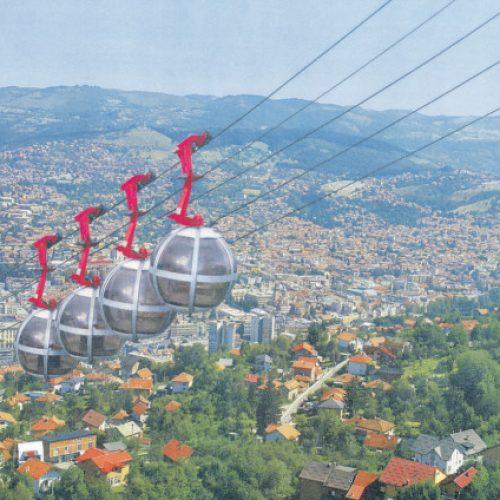 Sarajevo: Iz grada žičarama do Grdonja, Nahorevskih Brda i Vranjača?