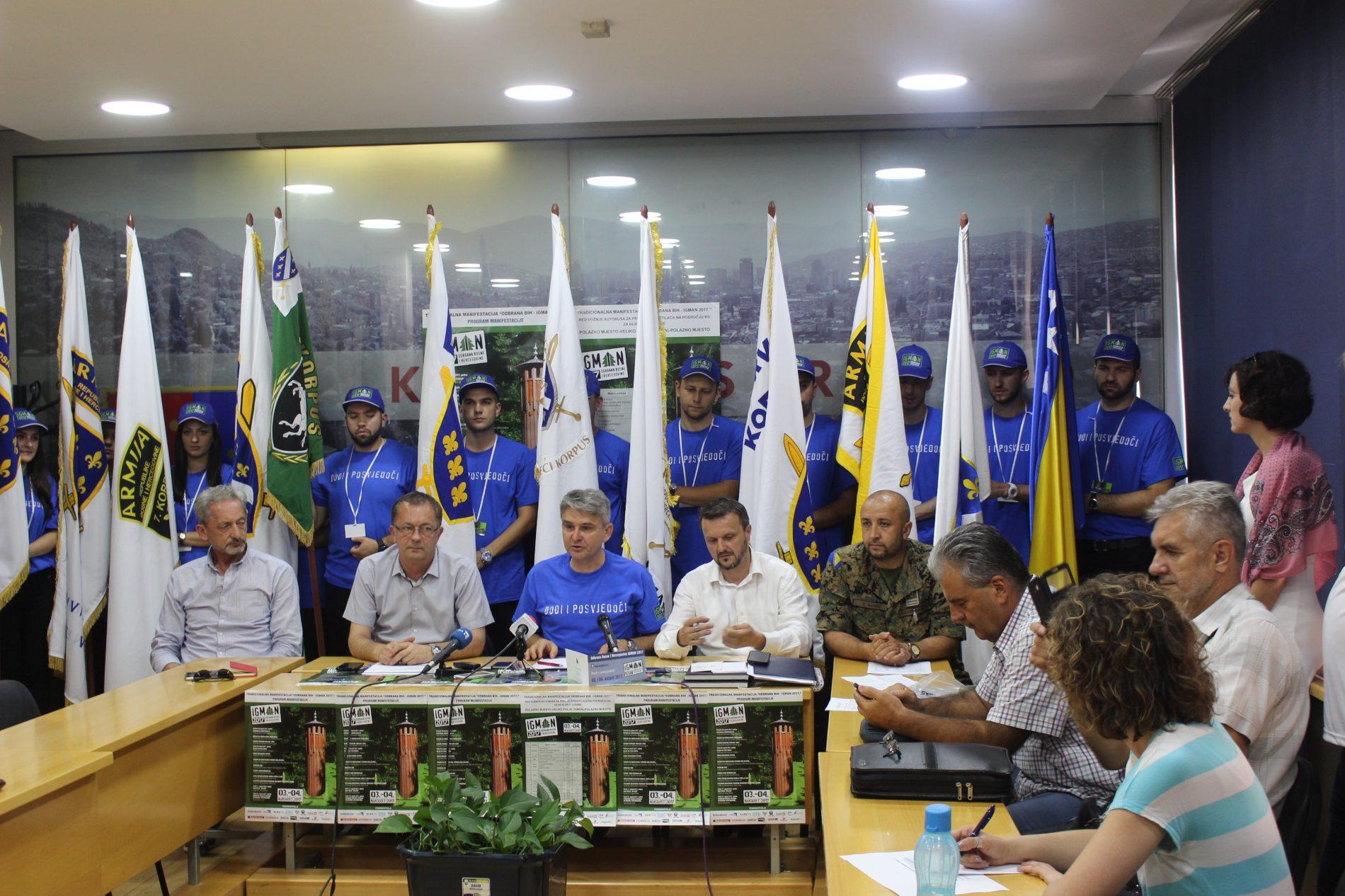 """Manifestacija """"Odbrana Bosne i Hercegovine – Igman 2017"""": Očekuje se više od 20.000 ljudi"""