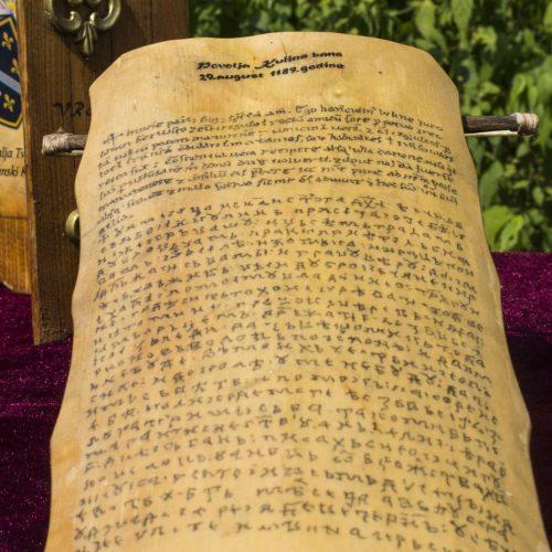 Povelja Kulin bana – svjedočanstvo o našoj državnosti, jeziku, kulturi, prirodi i karakteru našeg društva