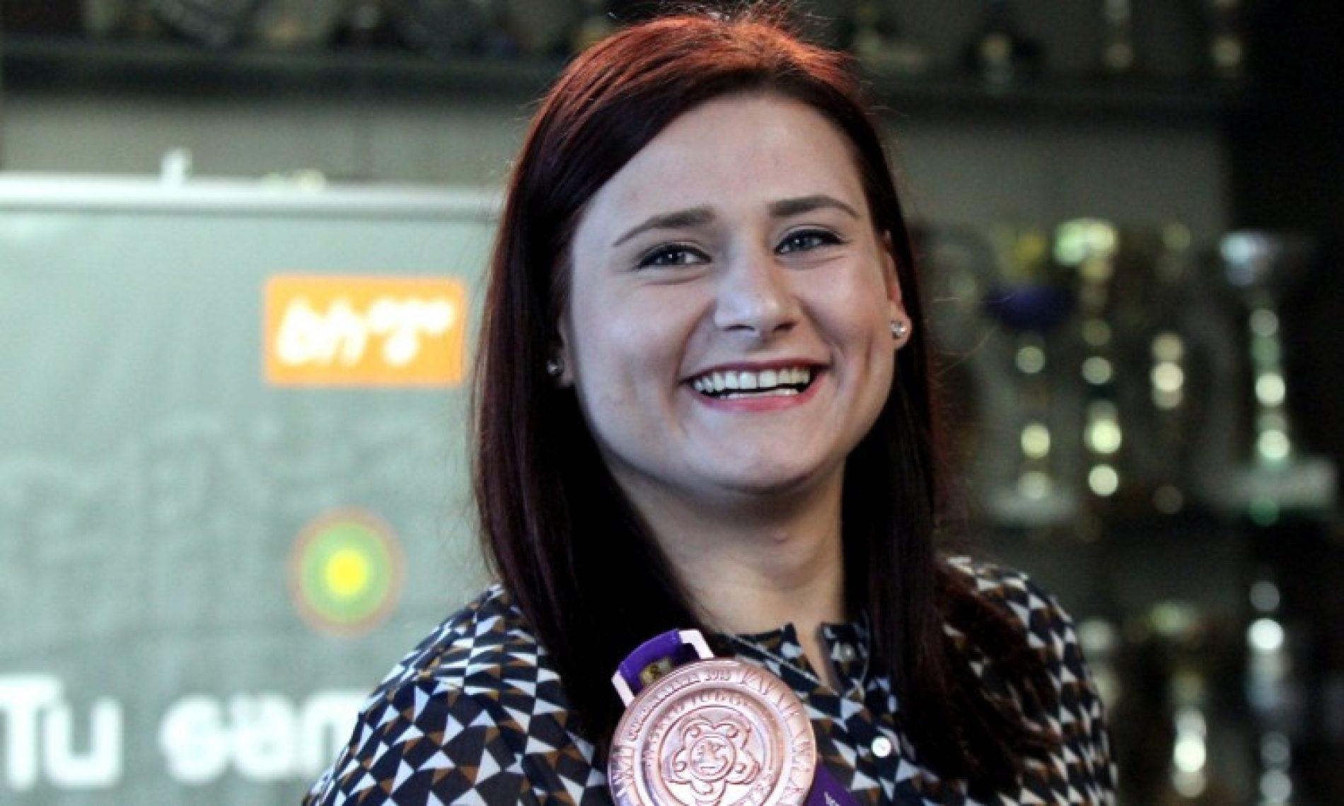 Larisa Cerić zauzima 2. mjesto na Svjetskoj judo ranking listi
